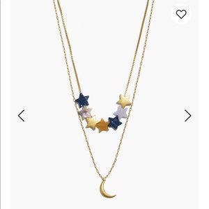 Madewell Star Acetate Necklace Set